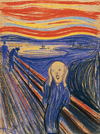 "Faux Finishing Income much ""the scream"""