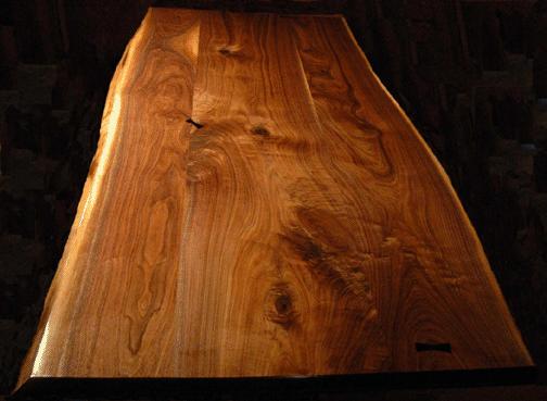 Painted wood grain inspiration from Dumonds Walnut, Ebony