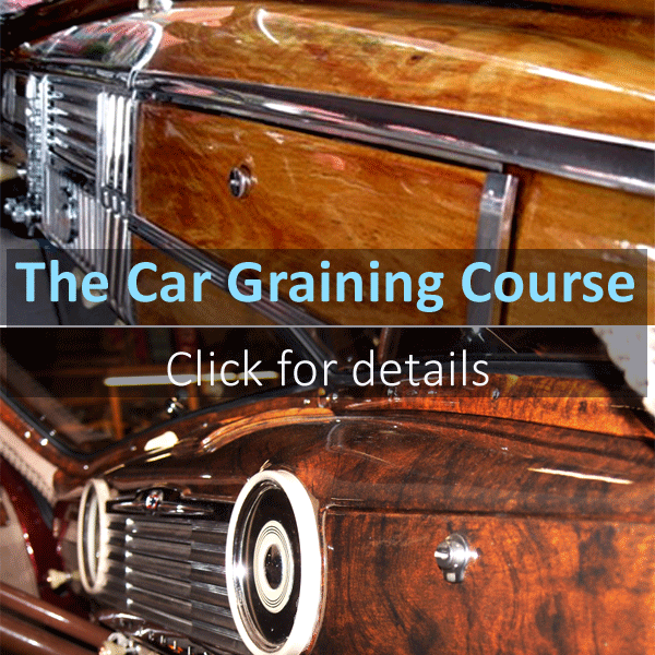 Car Graining Course Info link
