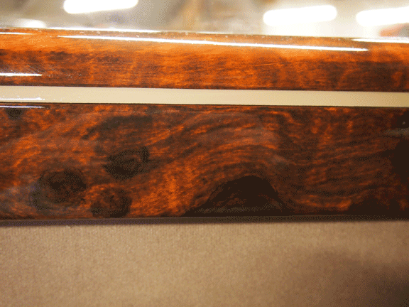 faux wood knot chevrolet coupe burl dashboard