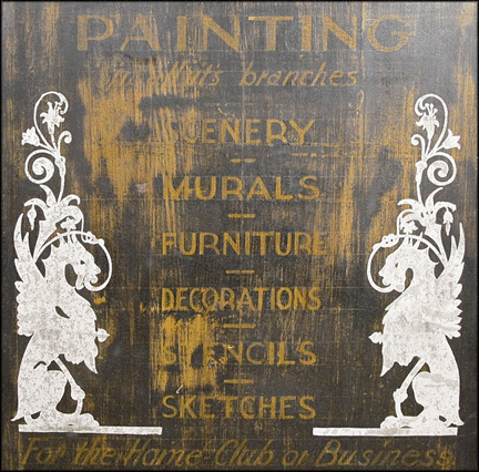 Antique-Painter-Sign