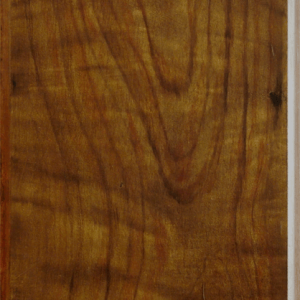 Walnut Faux woodgrain heart door panel