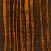 Macassar ebony faux painted wood grain