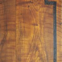 Faux Oak painted heart grain