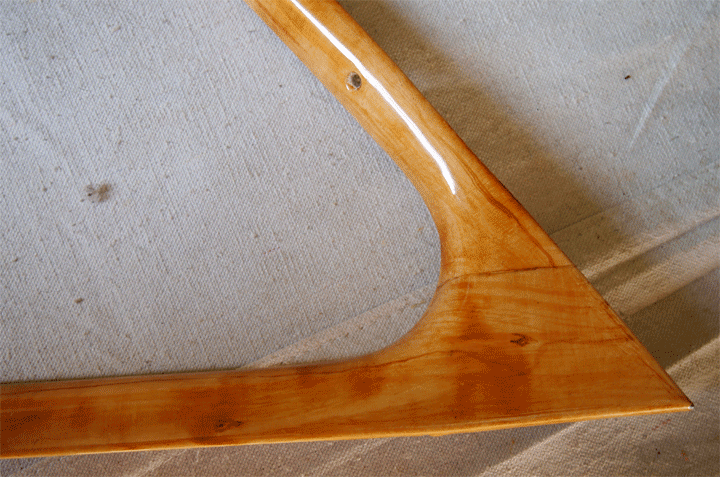Hudson Hornet faux wood window ring
