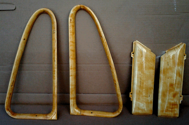 Hudson Hornet maple grained interior trim pieces