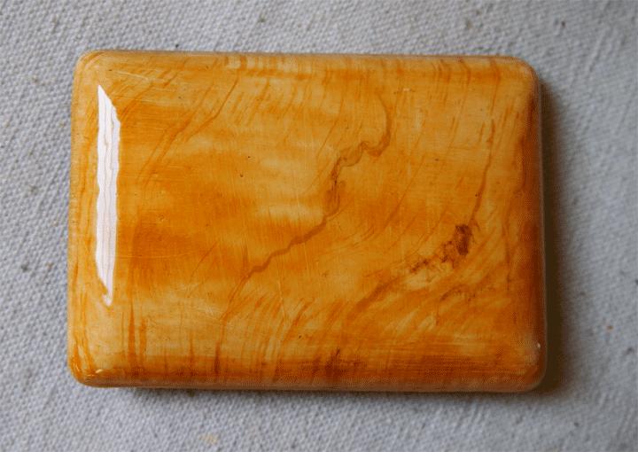 Hudson Hornet maple grained small escutcheon