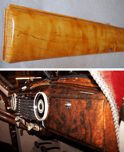 Car Wood grain Paint Faux Burl and Maple