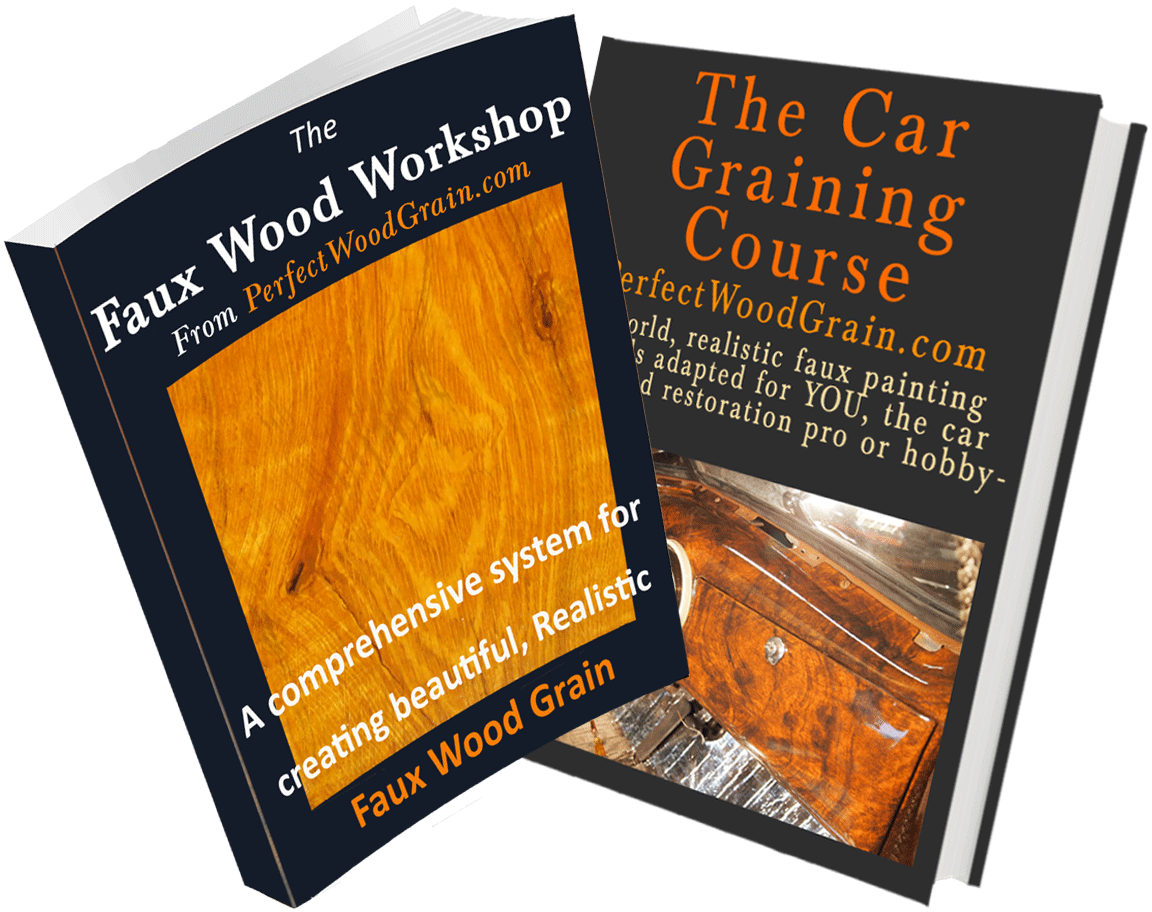 Image of ebooks of faux graining courses