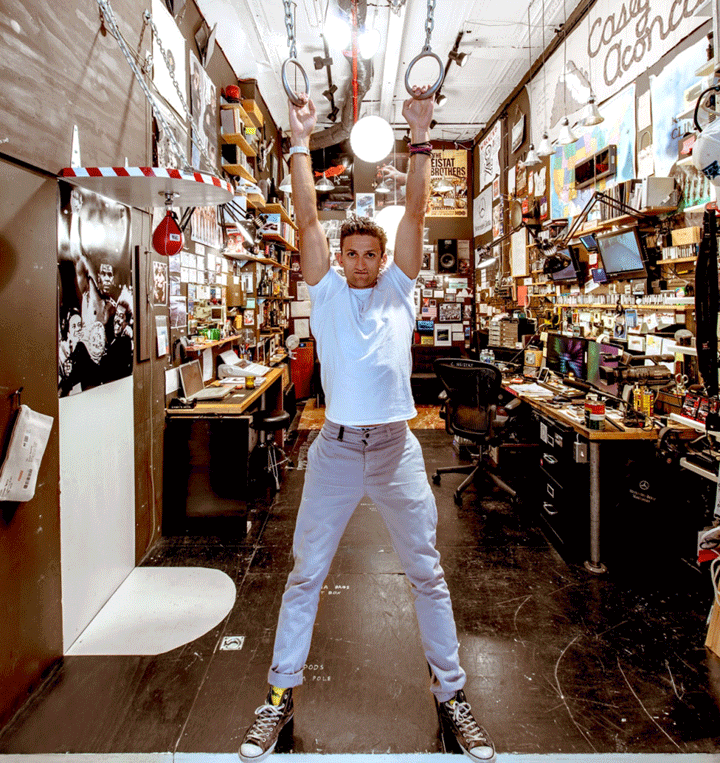 Casey Neistat faux finish studio inspiration