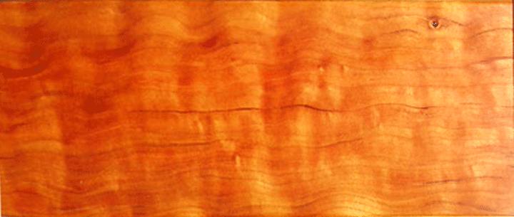 Cherry faux wood grain panel