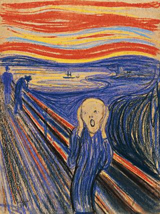 Faux Finishing profits The scream Munch