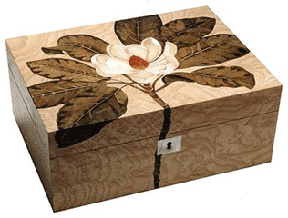 Aryma marguetry box Faux Wood Grain Inspiration