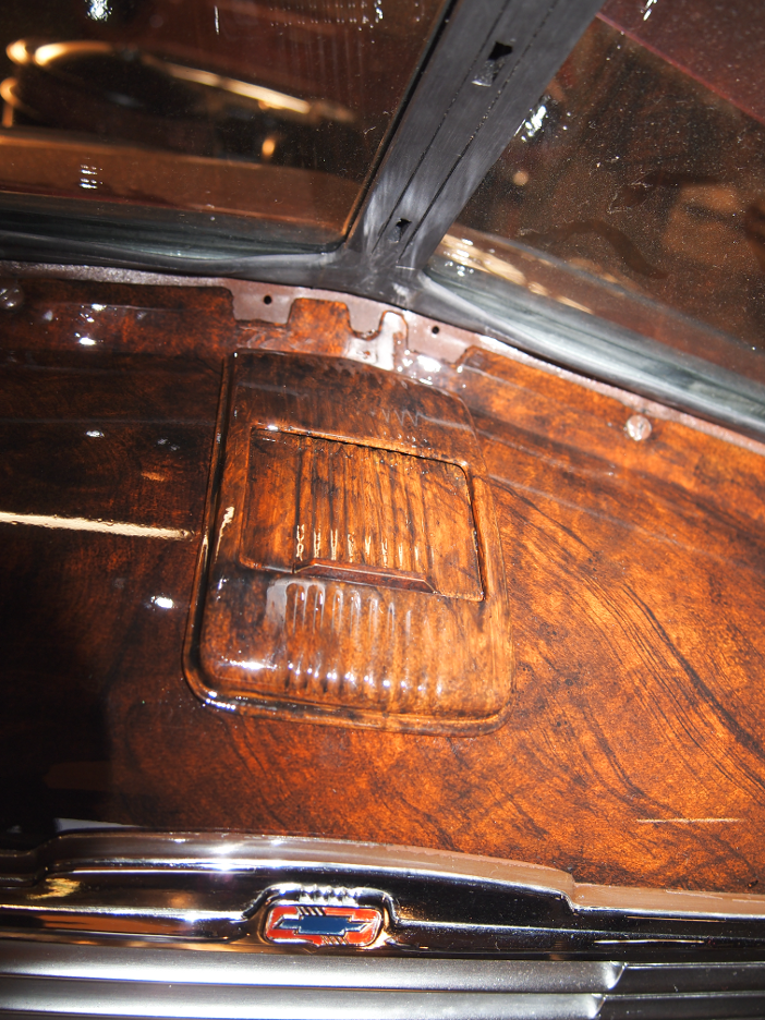 Faux Woodgrain Dashboard And Interior Trim 1947 Chevrolet