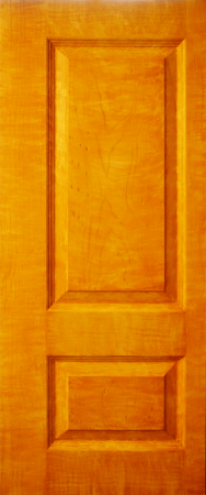 Maple wood faux painted door
