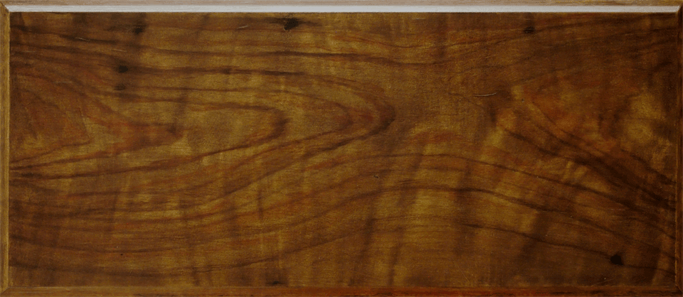 Walnut Faux woodgrain heart perfectwoodgrain.com