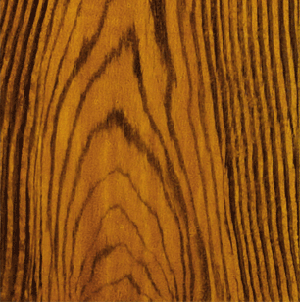Brown Oak faux woodgrain close-up