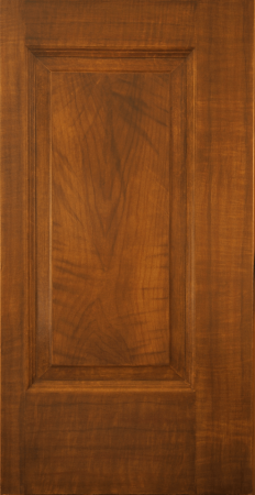 Walnut faux wood grain door