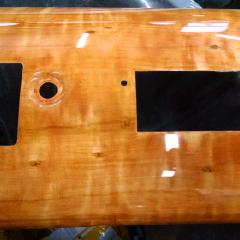 dashboard perfectwoodgrain Faux birds eye maple hudson hornet woodgrain