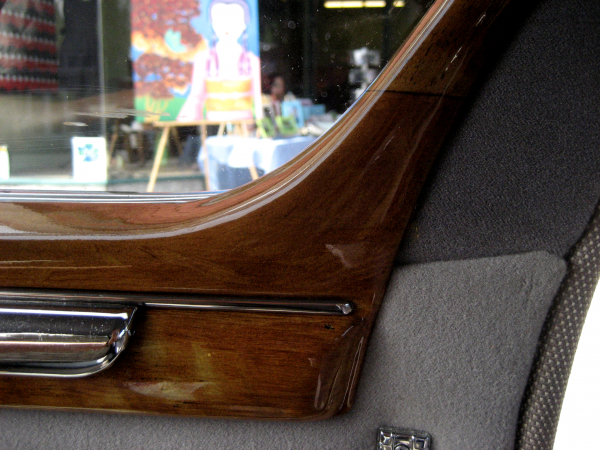 1948 Dodge Coupe Dashboard Grained In Faux Oak Woodgrain