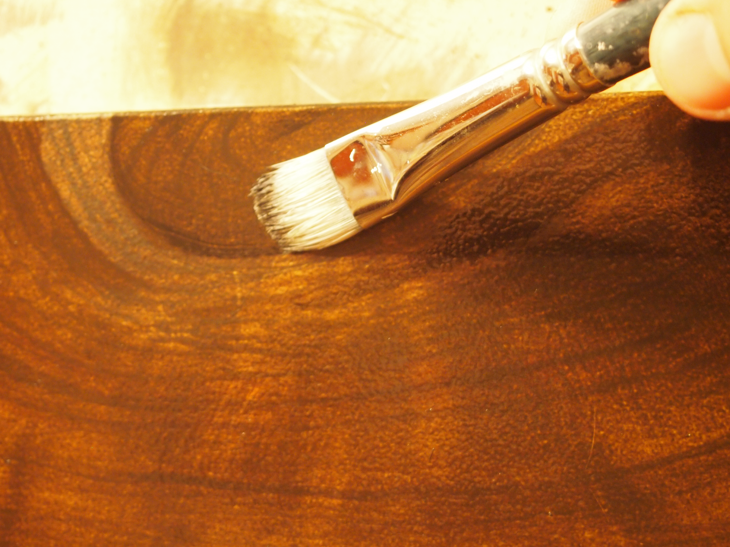 How To Paint Paneling Faux Wood Knots And Cracks For Realism In Your Faux Wood