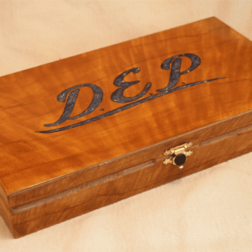 Faux Maple Wood Grain Gift Box