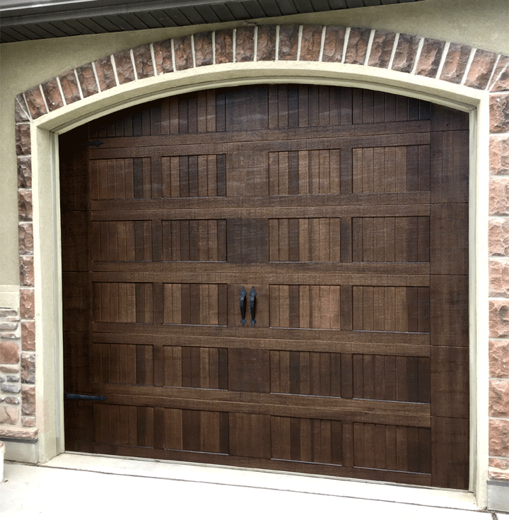 Faux Painted Walnut Doors & Faux Painted Walnut Doors - Painted Wood Grain Education Classes ...