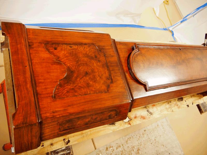 perfect wood grain Mahogany Burl Faux Wood Grain Paint