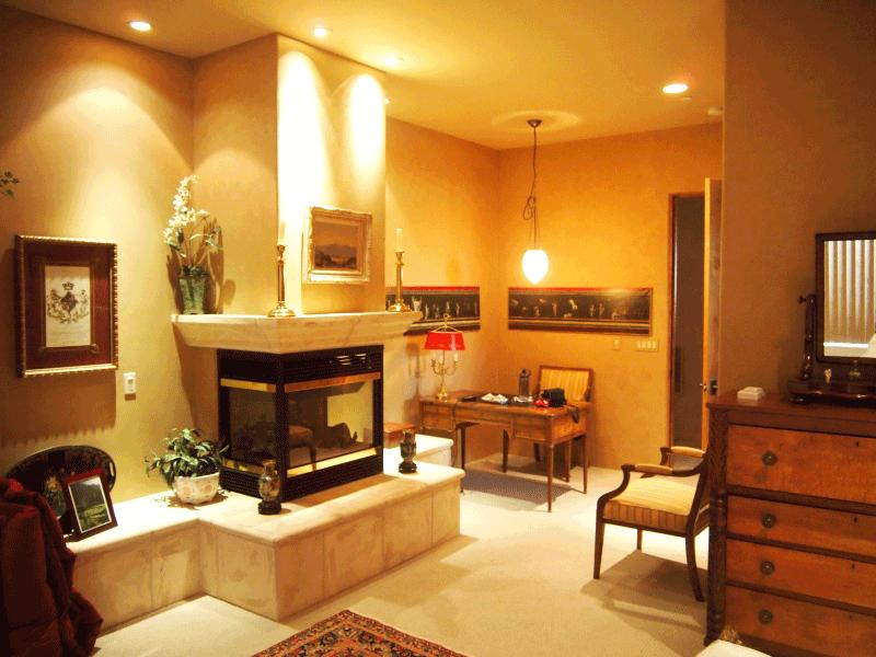 Mahogany Faux Wood Paint Perfectwoodgrain.com Guest Suite