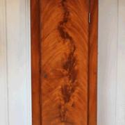 PerfectWoodGrain.com Real Flame Tall Clock Mahogany Faux Wood Paint