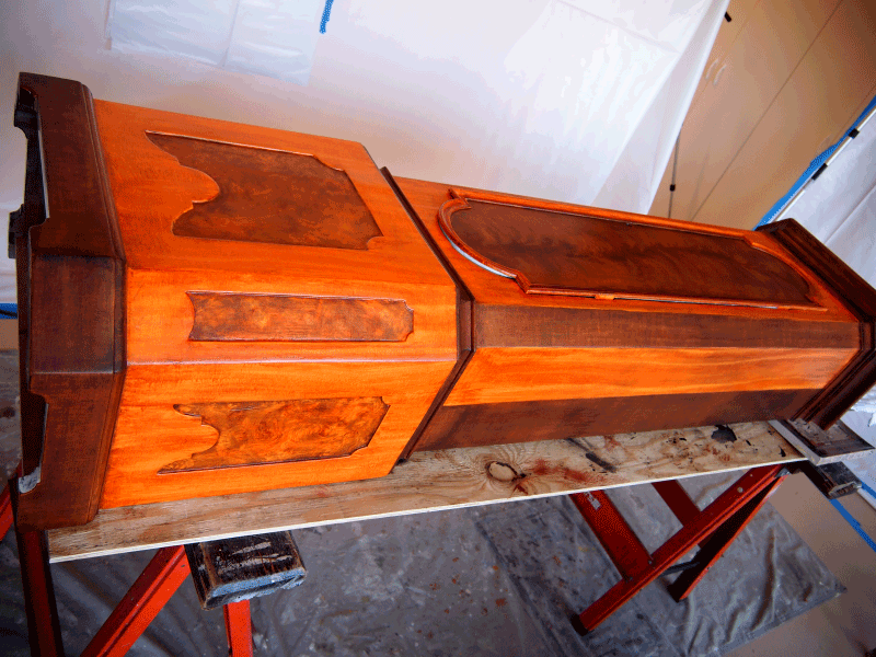 PerfectWoodGrain.com Stages Mahogany Faux Wood Paint