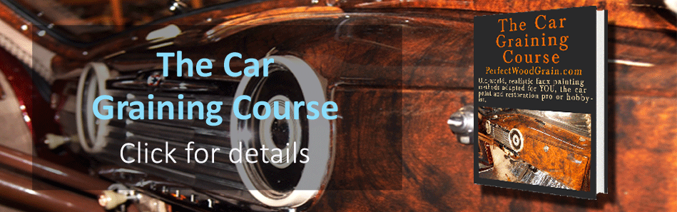 PerfecWoodGrain Car Graining Course image link