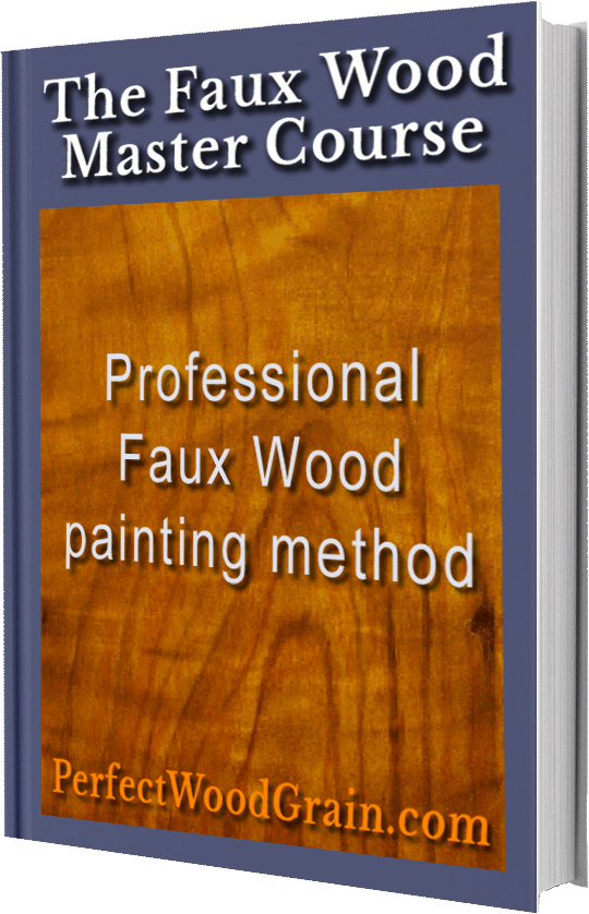 perfectwoodgrain Faux wood master course learn faux wood painting