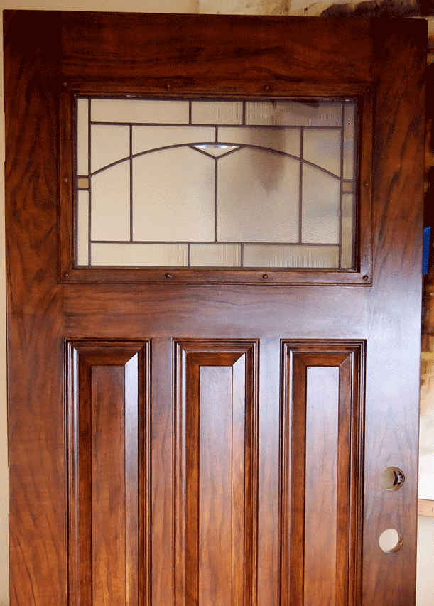 Walnut Woodgrain Door perfectwoodgrain  Introduction to Faux wood painting