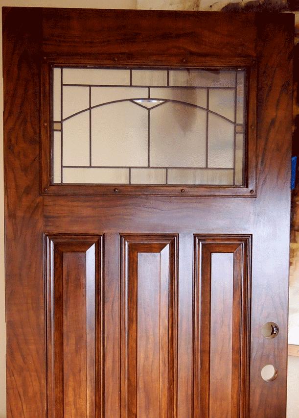 Walnut Woodgrain Door perfectwoodgrain  Introduction to Faux wood painting