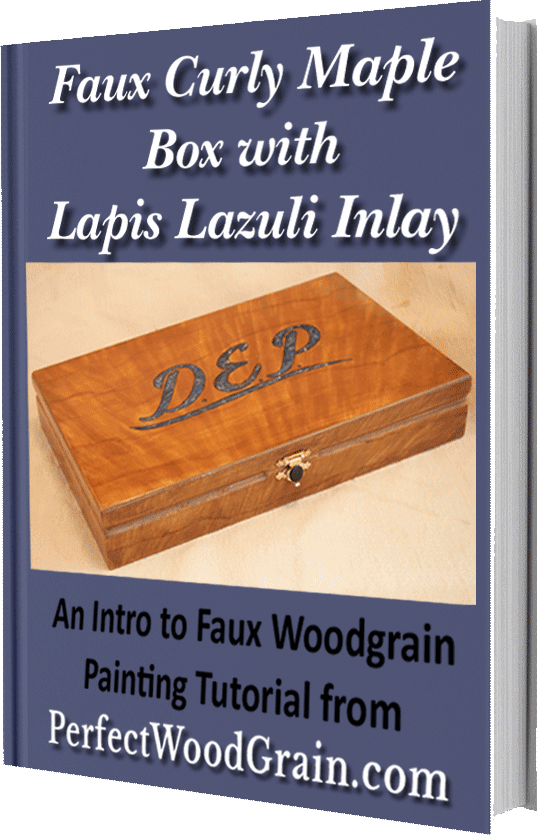 Faux maple woodgrain ebook cover perfectwoograin