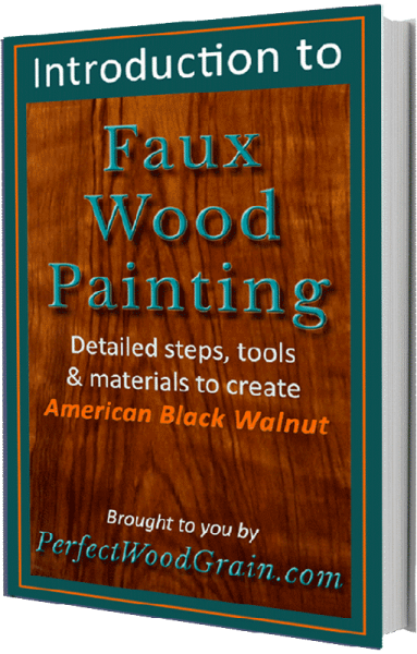 ebook cover image perfect woodgrain faux woodgrain painting introduction tutorial course